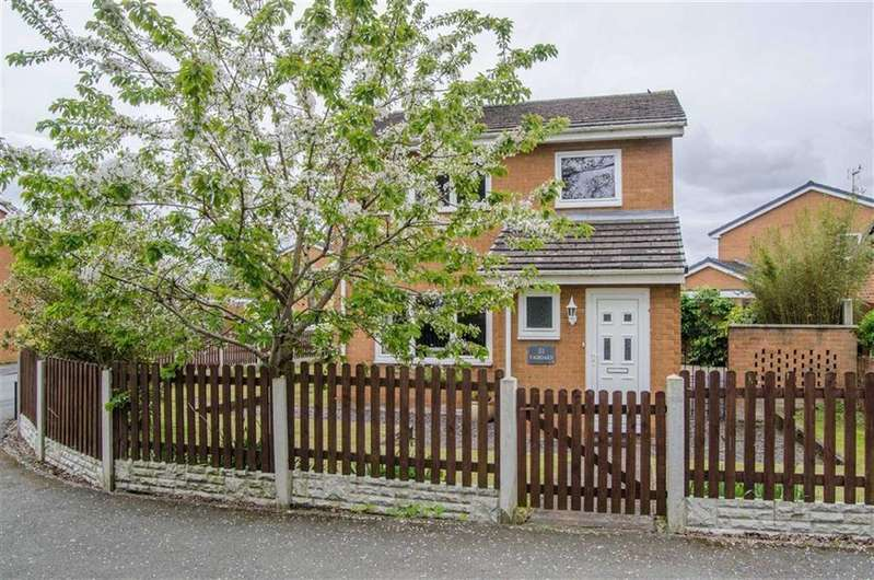 3 Bedrooms Detached House for sale in Fairoaks Crescent, Llay, Wrexham, Llay