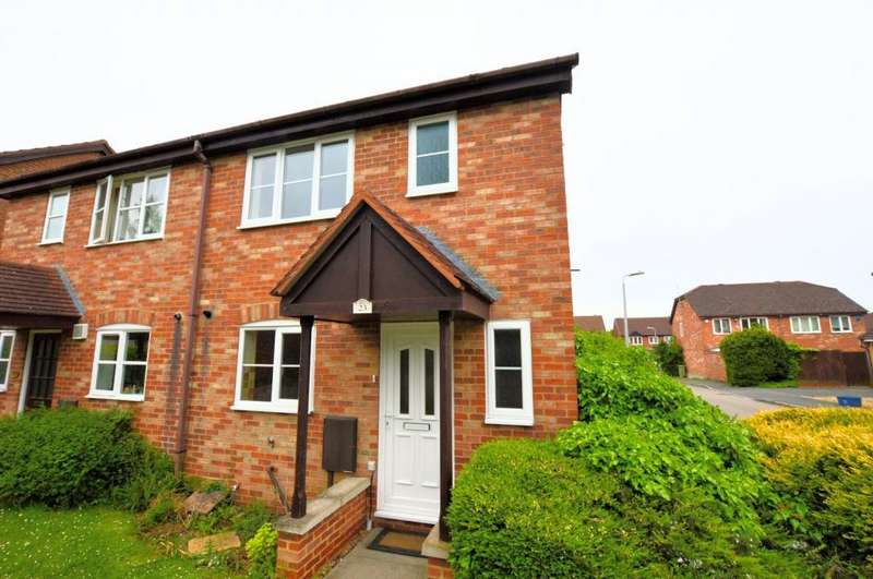 3 Bedrooms Semi Detached House for rent in Anding Close, Olney, MK46