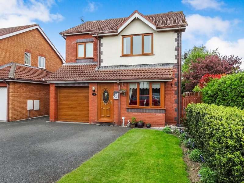 3 Bedrooms Detached House for sale in Lon Bedw, Rhyl