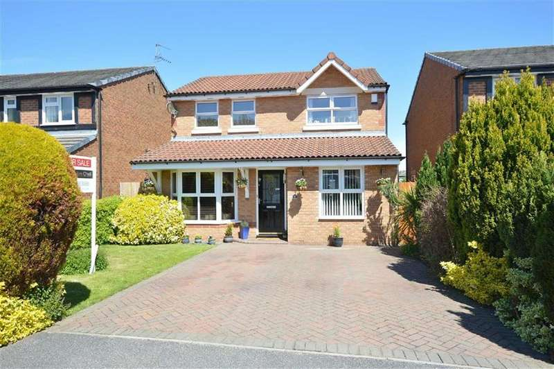 3 Bedrooms Detached House for sale in Fletcher Close, Upton, CH49