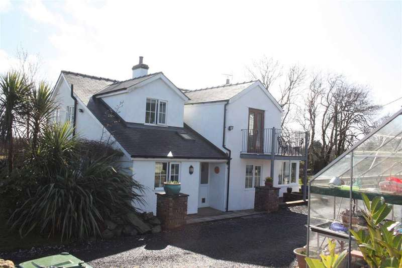 4 Bedrooms Detached House for sale in Tyn Cae, Paradwys, Bodorgan