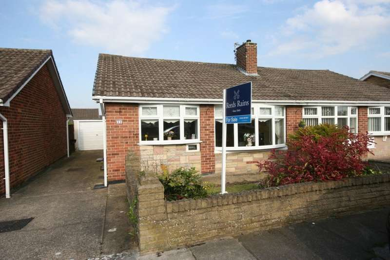 2 Bedrooms Semi Detached Bungalow for sale in Birch Grove, Stockton-On-Tees, TS19