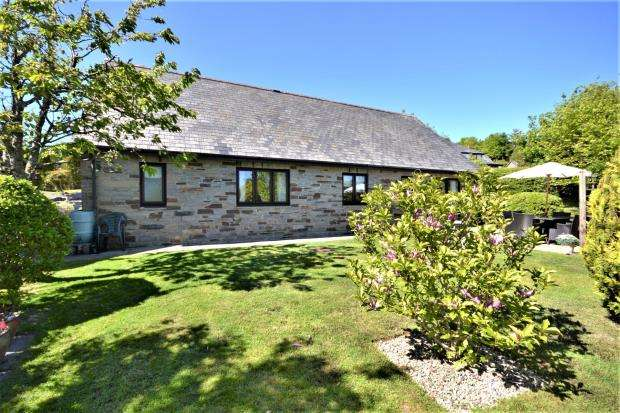 3 Bedrooms Detached Bungalow for sale in Orchard Close, St. Mellion, Saltash, Cornwall
