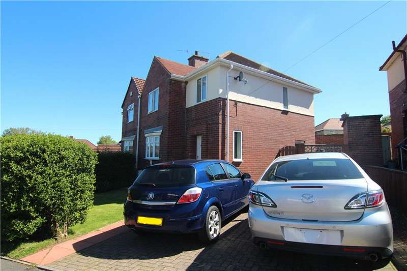 3 Bedrooms Semi Detached House for sale in Park Drive, Langley Park, Durham, DH7