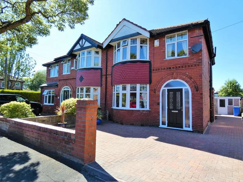 3 Bedrooms Semi Detached House for sale in Gerrard Avenue, Timperley, Cheshire, WA15