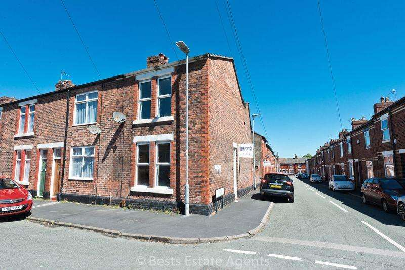 2 Bedrooms End Of Terrace House for sale in Lightburn St Runcorn