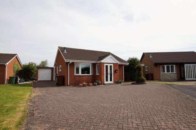 2 Bedrooms Detached Bungalow for sale in Marigold Close, Lincoln
