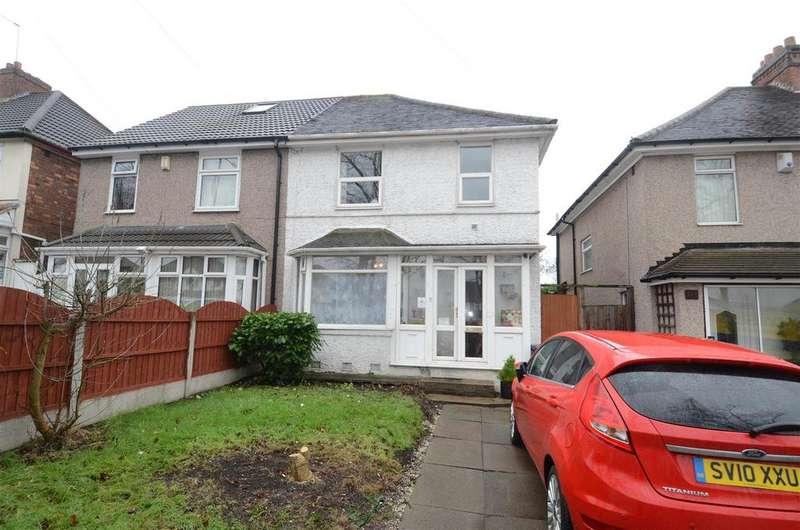 3 Bedrooms Semi Detached House for sale in Bromford Lane, Ward End, Birmingham