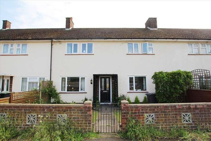 3 Bedrooms Terraced House for sale in High Road, Beeston, Sandy, SG19