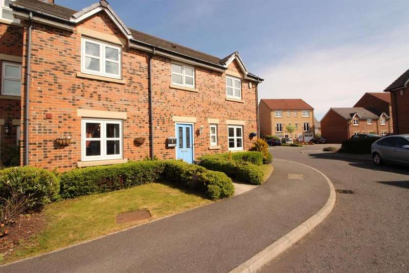 4 Bedrooms Semi Detached House for sale in Hawks Edge, West Moor, Newcastle Upon Tyne