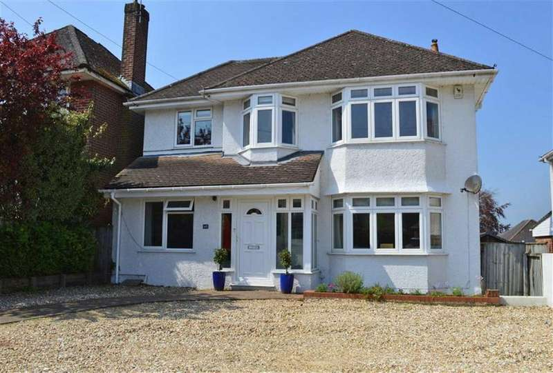4 Bedrooms Detached House for sale in Oakley Hill, Wimborne, Dorset