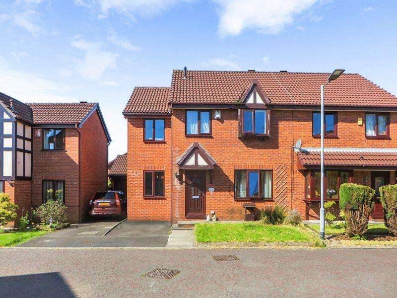 4 Bedrooms Semi Detached House for sale in Claydon Drive, Radcliffe, M26 3XA