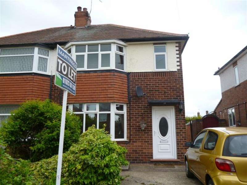 3 Bedrooms Semi Detached House for rent in Hillsway Crescent, Mansfield NG18