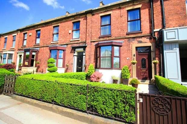 4 Bedrooms Terraced House for sale in Garstang Road, Preston, Lancashire, PR2 8NB