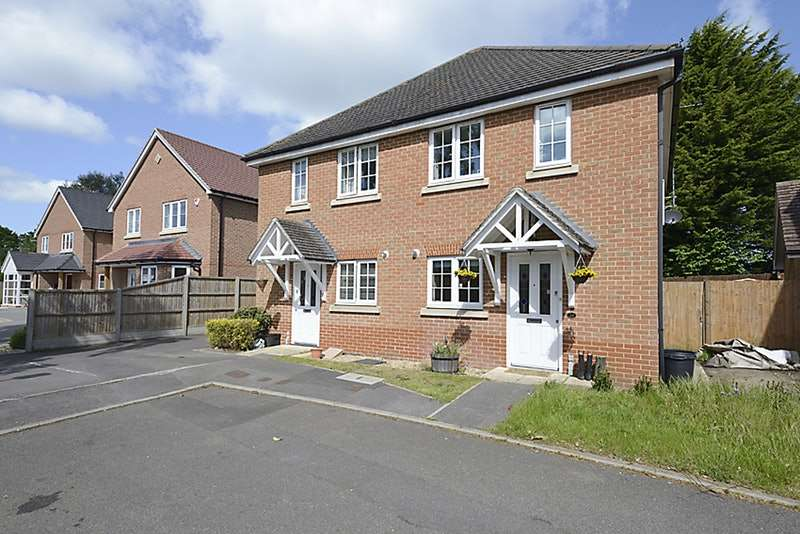 2 Bedrooms Semi Detached House for sale in Tanners Row, Wokingham, Berkshire, RG41