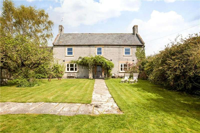 5 Bedrooms Detached House for sale in Wraxall, Shepton Mallet, Somerset, BA4