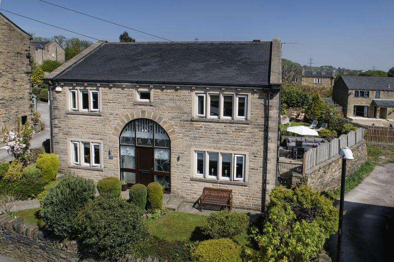 4 Bedrooms Detached House for sale in Upper Hall Barn, Stainland Road, Barkisland, HX4 0AQ