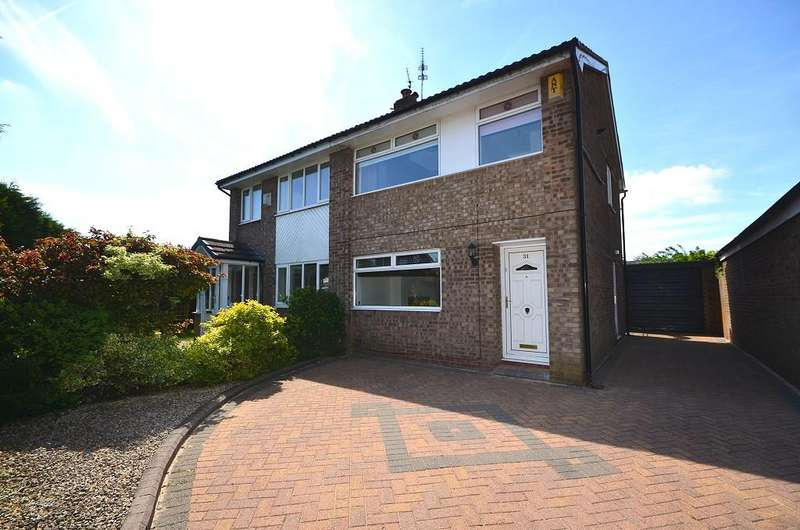 3 Bedrooms Semi Detached House for sale in Marlbrook Drive, Westhoughton BL5