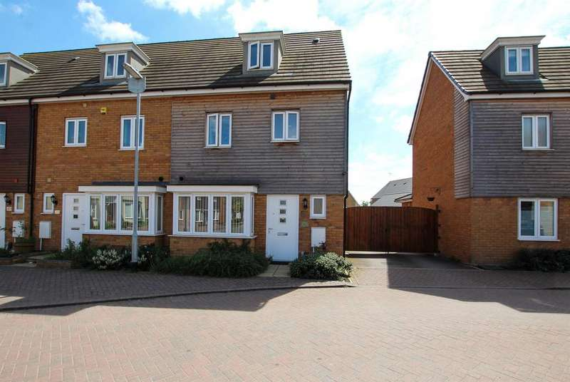 4 Bedrooms End Of Terrace House for sale in Dunnock Drive , Leighton Buzzard