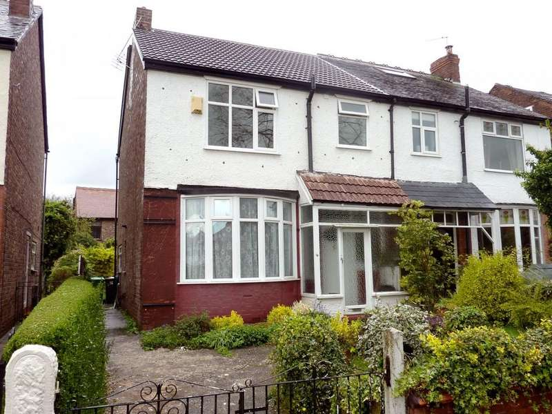 3 Bedrooms Semi Detached House for rent in Orchard Road East, Northenden