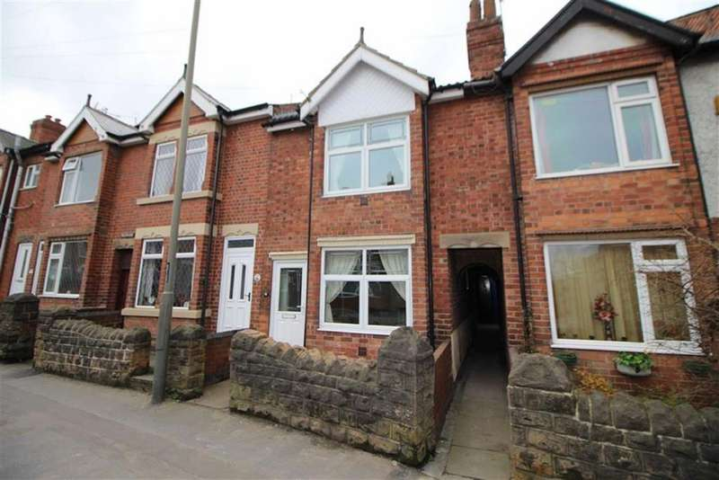 2 Bedrooms Terraced House for sale in Loscoe Road, Heanor, Derbyshire