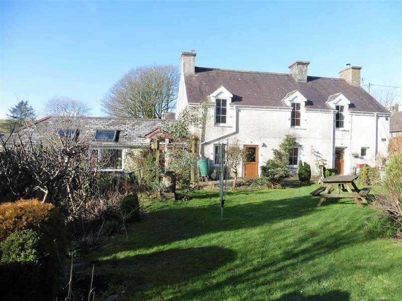 3 Bedrooms Detached House for sale in Tandre, Ystrad Meurig, Ceredigion, SY25