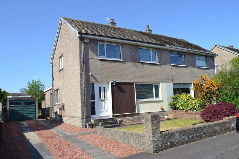 3 Bedrooms Semi Detached House for sale in 18 Norman Crescent, IRVINE, KA12 8SB