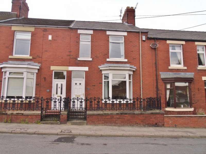 3 Bedrooms Terraced House for sale in Tennyson Terrace, Crook