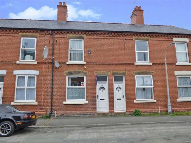 3 Bedrooms Terraced House for sale in Colemere Street, Wrexham
