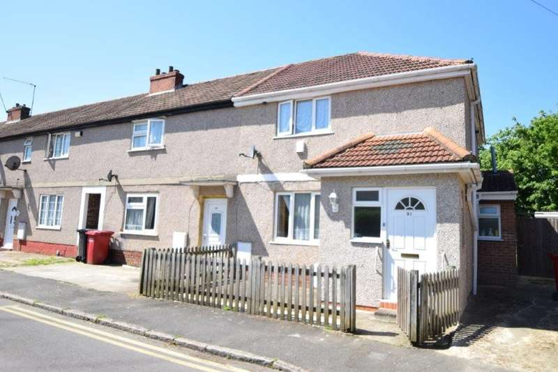 2 Bedrooms End Of Terrace House for sale in Myrtle Crescent, Slough, SL2