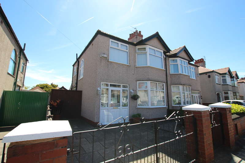 3 Bedrooms Semi Detached House for sale in Newborough Avenue, Crosby, Liverpool, L23
