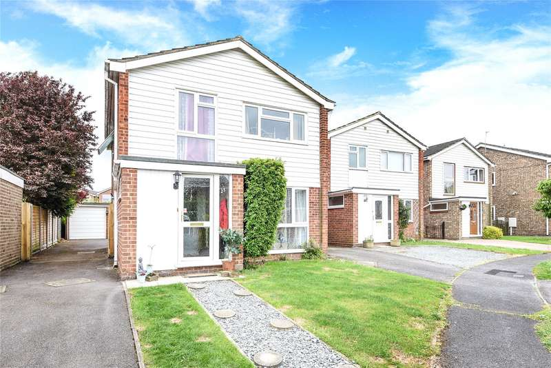 4 Bedrooms Detached House for sale in Delane Drive, Winnersh, Wokingham, Berkshire, RG41