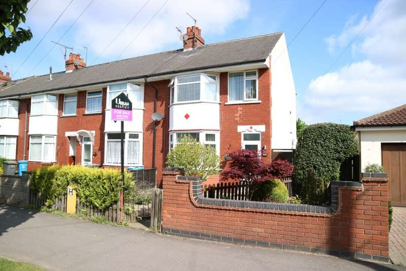 3 Bedrooms End Of Terrace House for sale in James Reckitt Avenue, Hull, HU8