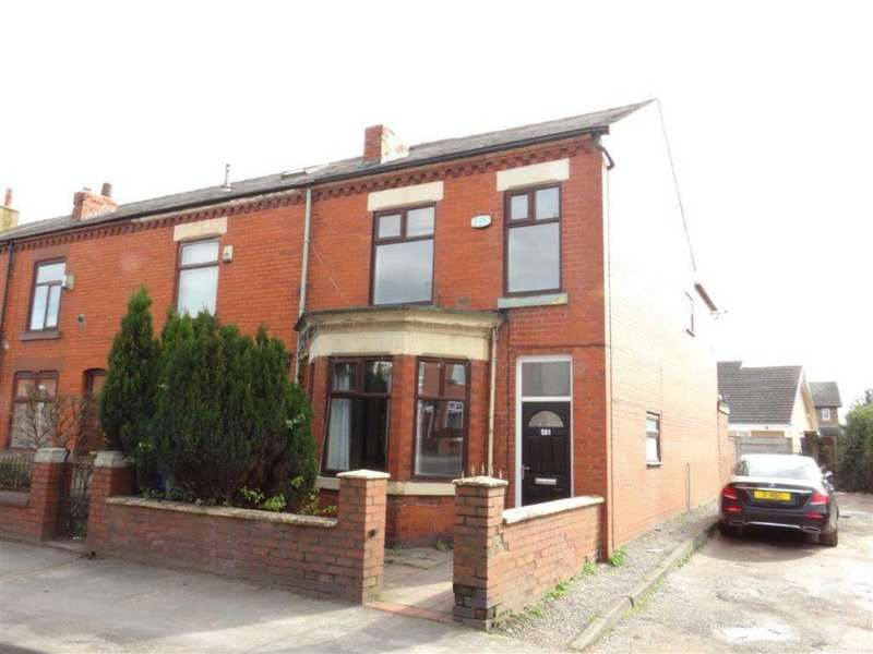 3 Bedrooms End Of Terrace House for sale in Wigan Road, Leigh, Lancashire
