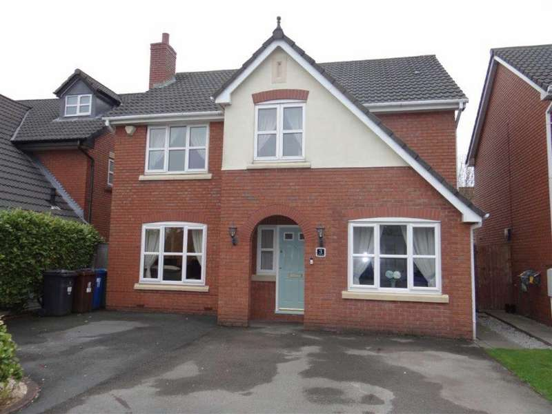 5 Bedrooms Detached House for sale in Sovereign Close, Lowton, Nr Warrington