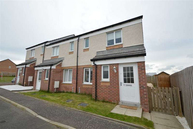 3 Bedrooms End Of Terrace House for sale in Wilkie Drive, Motherwell