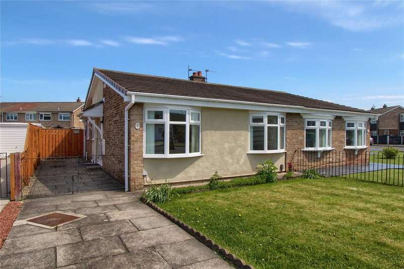 2 Bedrooms Semi Detached Bungalow for sale in Stanstead Way, Thornaby