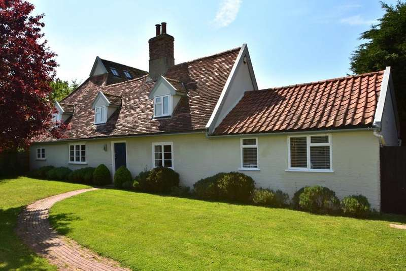 4 Bedrooms Detached House for sale in Holbrook Road, Freston, Ipswich, IP9 2PN