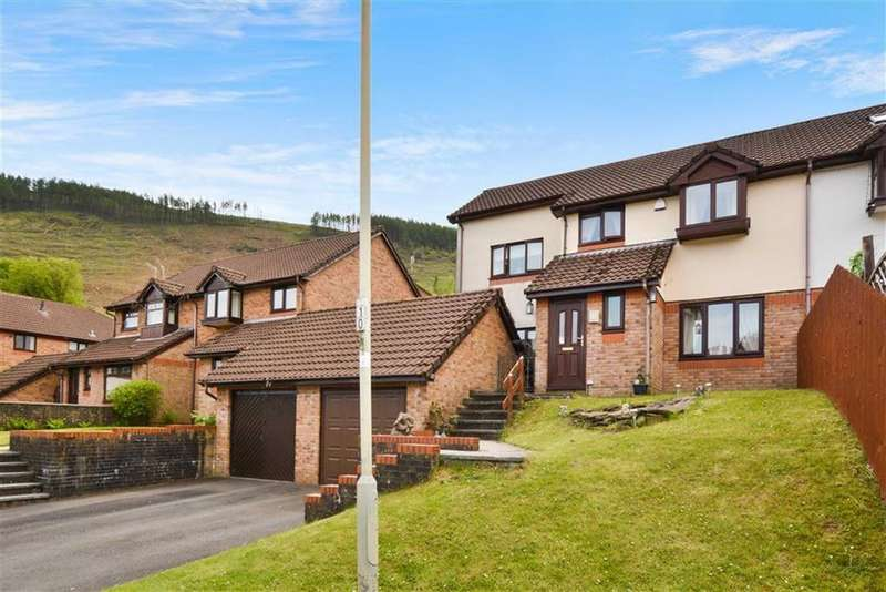 4 Bedrooms Semi Detached House for sale in Forest View, Mountain Ash, Rhondda Cynon Taff