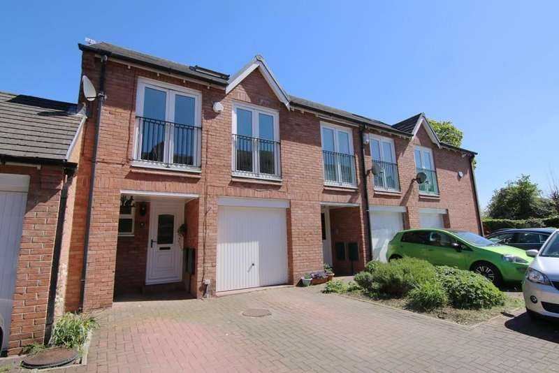 3 Bedrooms Town House for sale in Waverton Mill Quays, Waverton, Chester, CH3