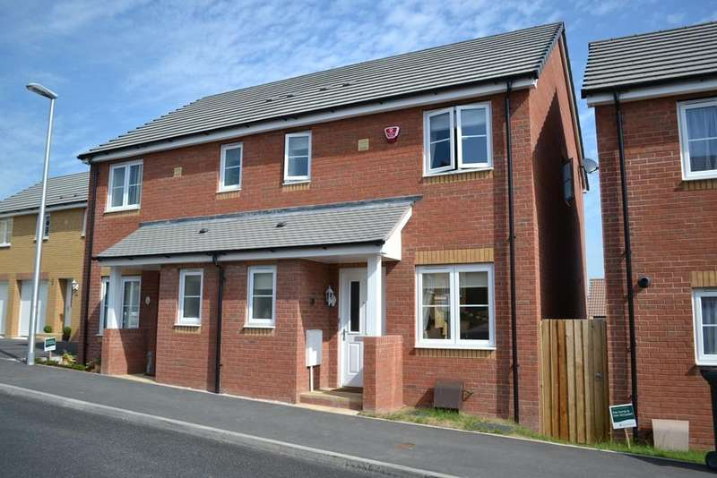 3 Bedrooms Semi Detached House for rent in Orchard Grove, Mile End, Newton Abbot