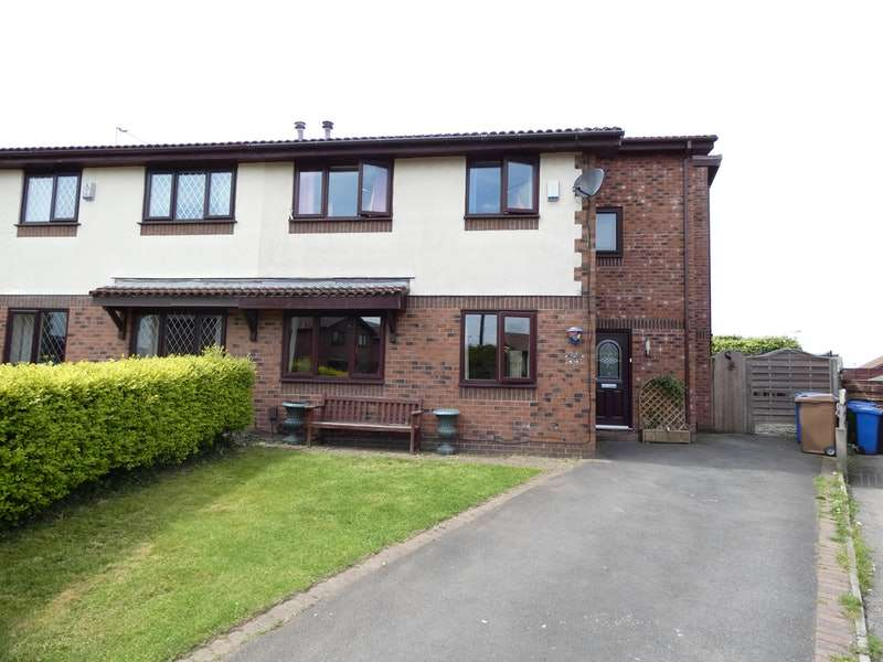 4 Bedrooms Semi Detached House for sale in Brayshaw, Heywood, Greater Manchester, OL10