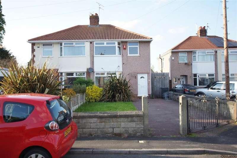3 Bedrooms Semi Detached House for sale in Crossley Avenue Ellesmere Port CH66 1LT