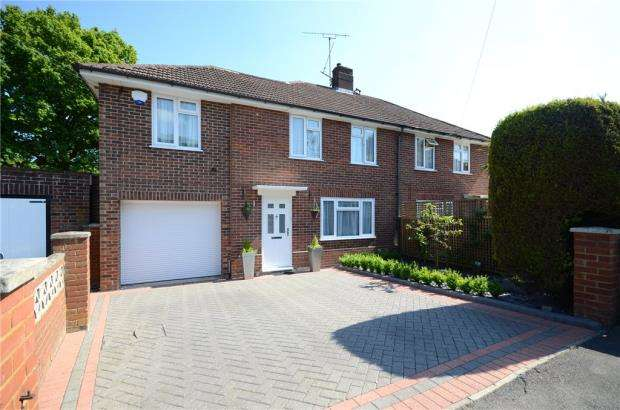 3 Bedrooms Semi Detached House for sale in Portland Gardens, Tilehurst, Reading
