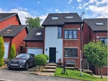 4 Bedrooms Detached House for sale in Owls Gate, Lees, Oldham, OL4 3FL