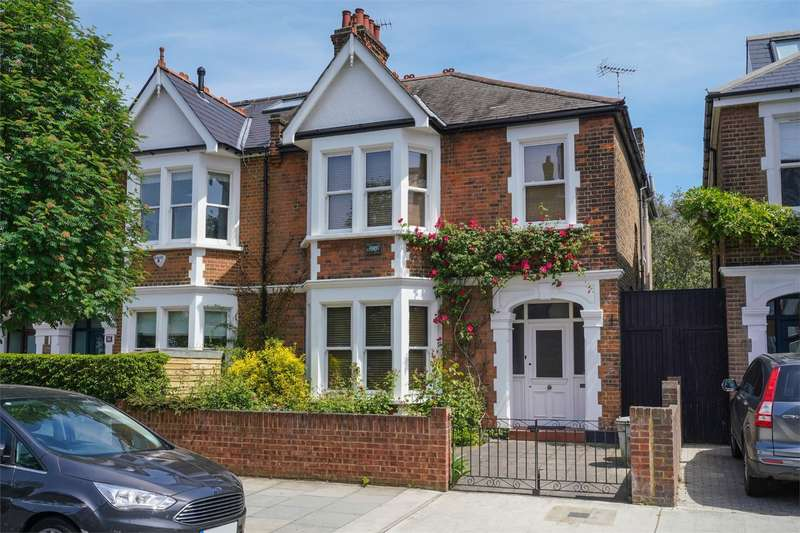 4 Bedrooms Semi Detached House for sale in Wormholt Road, Shepherds Bush