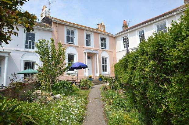 4 Bedrooms Terraced House for sale in Regent Square, Penzance, Cornwall