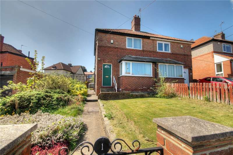 2 Bedrooms Semi Detached House for sale in Highfield Gardens, Chester le Street, County Durham, DH3