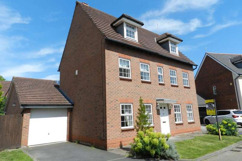 5 Bedrooms Detached House for sale in Browning Drive, Winwick, Warrington, WA2 8XL