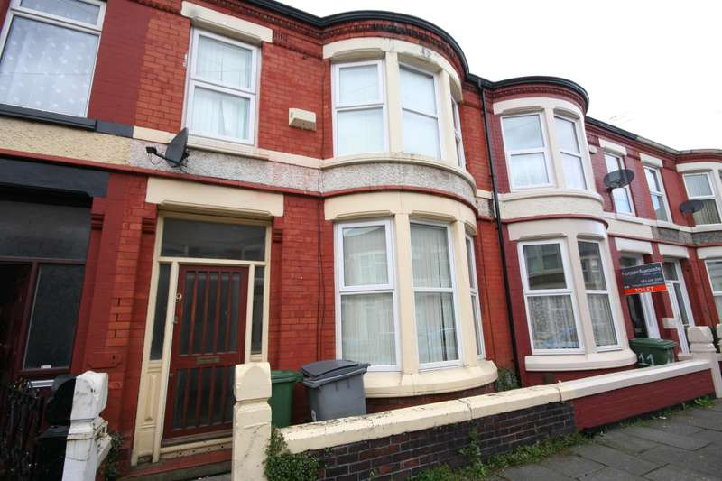 3 Bedrooms Terraced House for sale in Ilchester Road, Wallasey, CH44 9DP